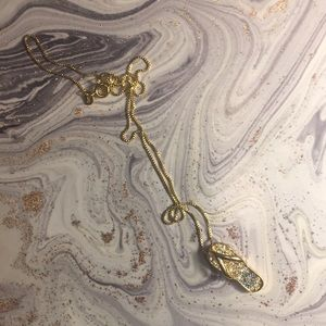 925 silver 14kt gold plated pendant and necklace